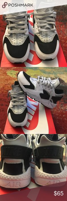 detailed look ca15f f64b8 Huaraches Men s black, white and grey Nike Huaraches. Good used condition.  Need to