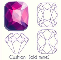 What Diamond Cut Is Right For You? - Funny/Relatable Stuff :P rings aesthetic decorations Gem Drawing, Crystal Drawing, Jewelry Design Drawing, Diamond Art, Diamond Drawing, Diamond Sizes, Jewelry Illustration, Jewellery Sketches, Art Tutorials