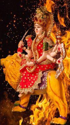 Maa Durga Image, Durga Maa, Durga Images, Radha Krishna Images, Birthday Girl Pictures, Girl Birthday, Lord Krishna, Shiva, Mata Rani