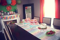 The Very Hungry Caterpillar, by Eric Carle Birthday Party Ideas | Photo 2 of 21 | Catch My Party