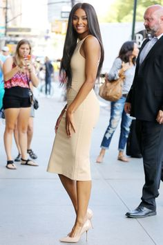 Derek Blasberg's best dressed celebrities of the week: Ciara.