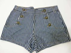 Primark Denim Co Blue Candy Striped High Waist Shorts Size 10 Mad Hatter Halloween Costume, High Waisted Shorts, Casual Shorts, Blue Candy, Candy Stripes, Hot Pants, Primark, Pants For Women, Size 10