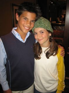 aw baby Taylor Lautner & Alyson Stoner.i totally remember her in the missy elliot videos