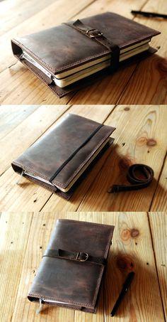 Large Moleskine cover. Ipad Mini cover. by JustWanderlustShop
