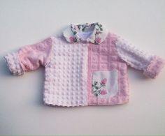 Vintage Chenille Jacket Size 9 Months – Lavender and Old Lace