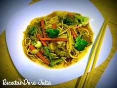 #receitas #boatarde #receitasdonajuila  RECEITAS DONA JULIA - Blog de Culinária Gastronomia e Receitas.: YAKISSOBA