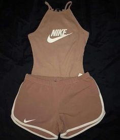 Ideas For Clothes Nike Outfits Cute Nike Outfits, Cute Lazy Outfits, Teenage Outfits, Sporty Outfits, Teen Fashion Outfits, Trendy Outfits, Summer Outfits, Girl Outfits, Nike Shorts Outfit
