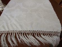 "24 x 52"" Huck Linen Damask Show Towel  C:1900 ( 3 AVAILABLE)"