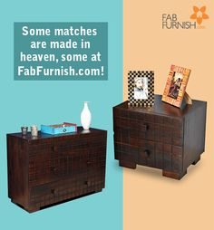 Looking for a perfect match for your #bedroom #furniture?  Browse through our #solidwood range of #SideTables, chest of #drawers, wall #shelves and more   #DiwaliDecor and #FabFurnish