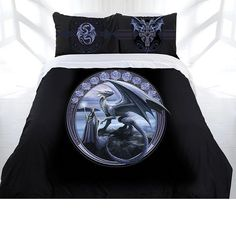 NEW Horizon Gothic Quilt Cover Double Queen King Bedding Anne Stokes Fantasy | eBay