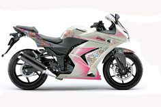 Ninja 250R para mulheres