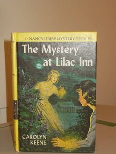 Nancy Drew #04 The Mystery at Lilac Inn Blue End Pages Carolyn Keene by RomanceWriter on Etsy