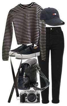 """Untitled #9531"" by nikka-phillips ❤ liked on Polyvore featuring Topshop, T By Alexander Wang, Eytys, Nikon and H&M"