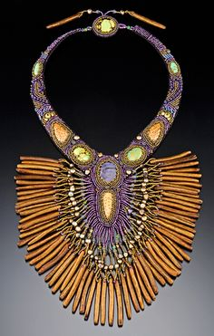 Necklace | Sherry Serafini. Bead Artist.