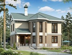 Sims 4 Houses, Happy Family, Style At Home, House Plans, Cottage, Exterior, How To Plan, Mansions, House Styles
