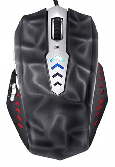 Perixx MX-3000B, Programmable Gaming Laser Mouse - Avago 8200dpi ADNS 9800 Laser Sensor - 3D Black Painting - Omron Micro Switches - 8 Programmable Button - Weight Tuning Cartridge - Ultra Polling 125-1000HZ: Computers & Accessories