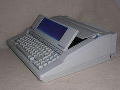 Elektronische Schreibmaschine Triumph Adler Gabriele PFS electronic typewriter