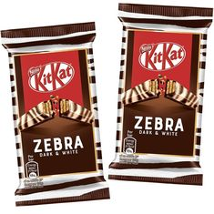 New Zebra Kit Kat bars are out now in the UK! These have dark and white swirled chocolate. @gbgifts has them in stock, for those of you… Kit Kat Flavors, Kit Kat Bars, Buttered Corn, Dark Energy, About Uk, White Chocolate, Instagram