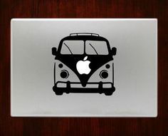 Volkswagen Bus Decal Stickers For Macbook Pro Air Retina 11 / 13 / 15 / 17 inch Mac Book Laptop 1. Easy application in minutes.2. High resolution, full detail precision cut.3. Decals are cut on High Q