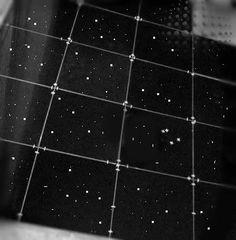 Glitter bathroom floor