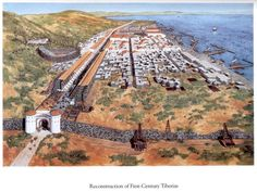 Reconstruction of Tiberius on the Sea of Galilee ~ Balage Balogh