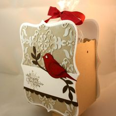 Stampin' Up!  Top Note Box  Dana Newsom  Christmas