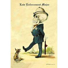 Buyenlarge 'Law Enforcement Major' by F. Frusius M.D. Painting Print