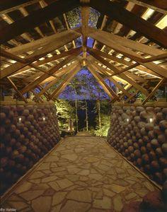 Auburn University Rural Studio    Yancey Tire Chapel  Thanks for the Inspiration Sam Mockbee!!!!