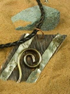Three metal pendant
