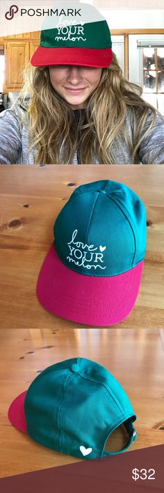 Love your melon baseball cap Love your melon baseball cap! Bought it last summer but haven't worn it! This hat is NWT but love your melon hats don't come with tags. They're hats made for a great cause :) the hat is unisex and would work great for a gift! Patagonia Accessories Hats