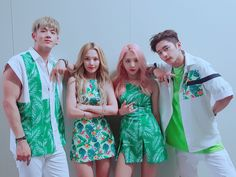 •i love KARD's tropical style it makes me so happy•