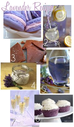 Lavender Love | Inspire Me | Flights of Delight | Lavender Recipes