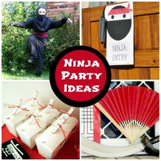Here are some awesome ninja party ideas!  | CatchMyParty.com