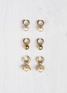 Dot Earrings - Céline