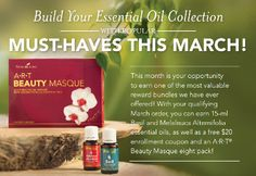 March Young Living Essential Oils Special