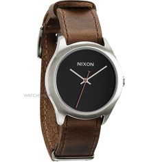 Mens Nixon The Mod Leather Watch A428-400