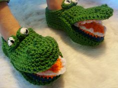 Teens to Adults Alligator Slippers | $4.00 by Sandy Powers