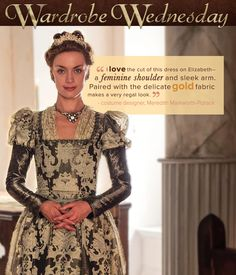 See more of Elizabeth's regal looks on the latest episode of Reign: www.cwtv.com/shows/reign
