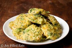 Broccoli Cheese Nuggets - Low Carb, Grain Gluten Free, THM S, Keto - If you are looking for new ways to get some green into your diet or your kids this recipe for Broccoli Cheese Nuggets will be perfect. With only five ingredients it is easy to whip up as a side dish or snack.