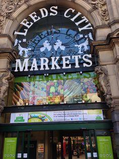 Entrance to Kirkgate Market in Leeds