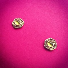 Twisted Recycled Gold Earrings