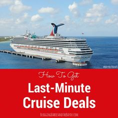 1000 Ideas About Last Minute Cruises On Pinterest  Discount Cruises Last M