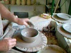 SIMON LEACH - Making a butter dish 2 - YouTube