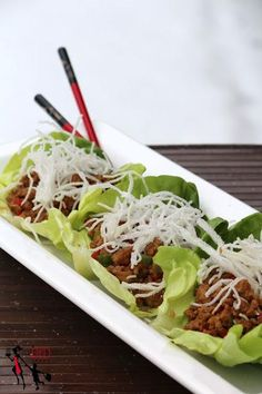 Chicken Recipe : Chicken Lettuce Wrap