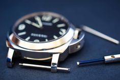 Panerai- PVR Punavuoren Ranneke Oy Omega Watch, Watches, Accessories, Wristwatches, Clocks, Jewelry Accessories