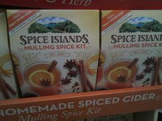 The Small Gems: When Your Kitchen Smells like Spiced Cider
