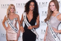 Miss Indiana USA 2013, Emily Hart; Miss Colorado USA 2013, Amanda Wiley; and Miss North Dakota USA 2013, Stephanie Erickson | #MissUSA