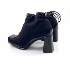39c481251701 Jamron Women Punk Metal Style Cool Patent PU Leather Chunky Heel ...