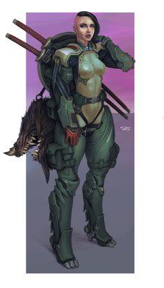 ArtStation - Monster Hunter, Alexey Kropachev Monster Characters, Sci Fi Characters, Bug Hunt, Monster Hunter, Manga, Pin Up Girls, Cyberpunk, Character Design, Artwork