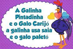 Plaquinhas Galinha Pintadinha!
